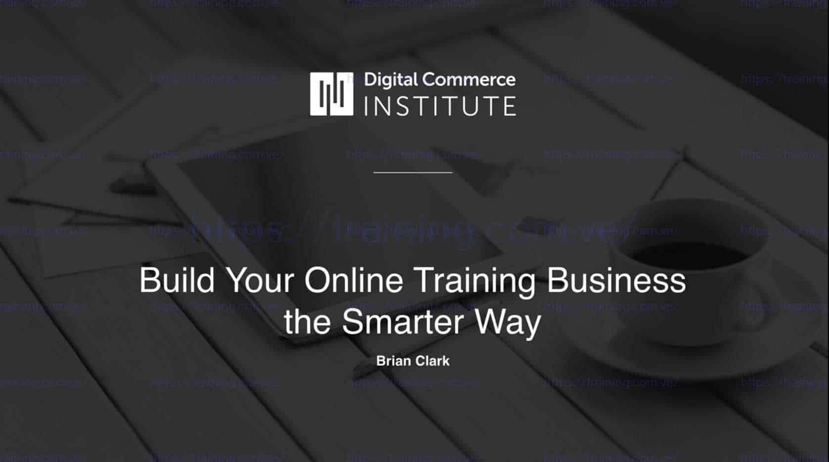 Digital Commerce Institute Bundle by Copyblogger Discount
