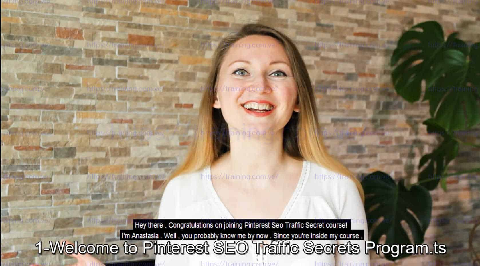 Pinterest SEO Traffic Secrets 2019 by Anastasia Blogger Coupon