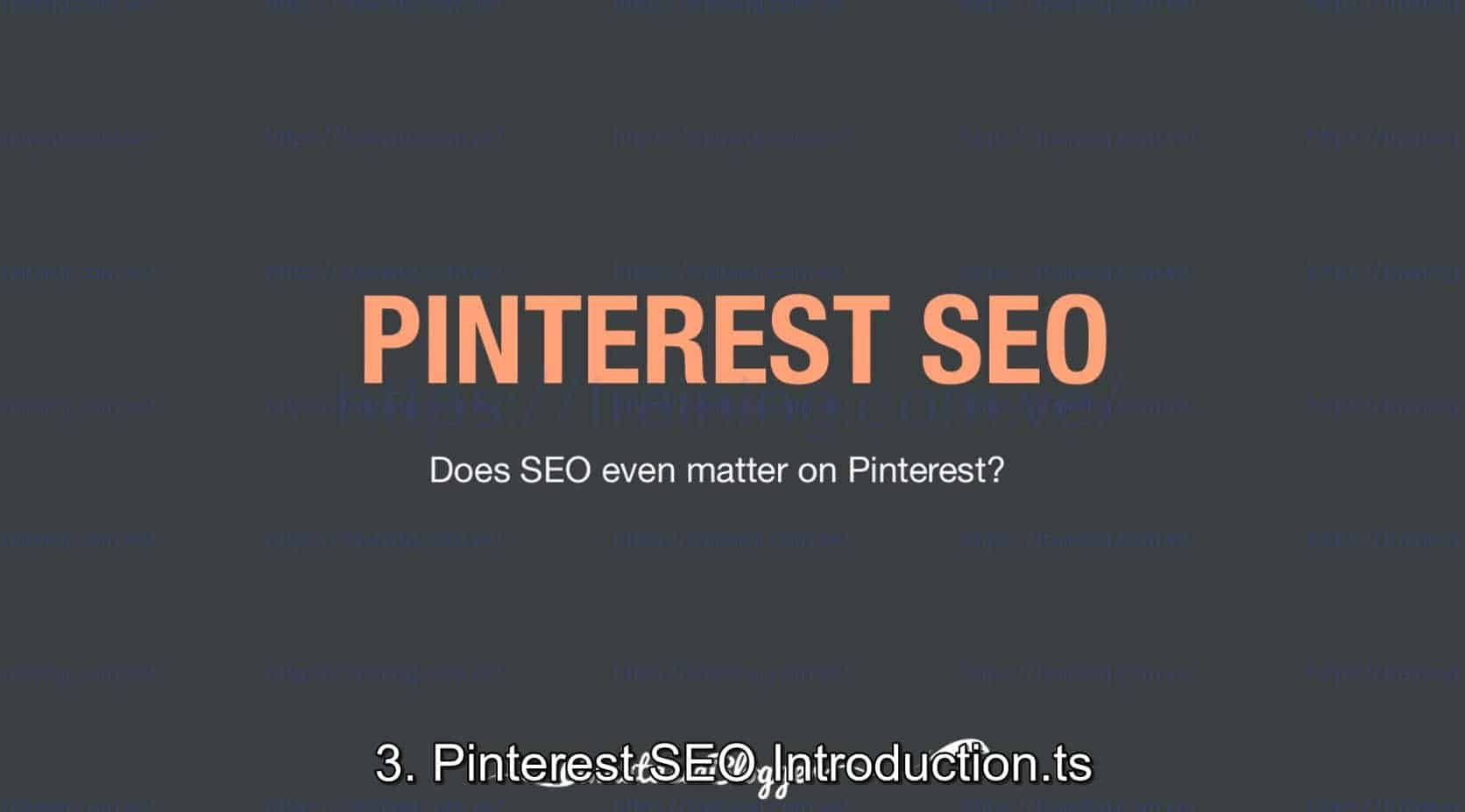 Pinterest SEO Traffic Secrets 2019 by Anastasia Blogger Discount