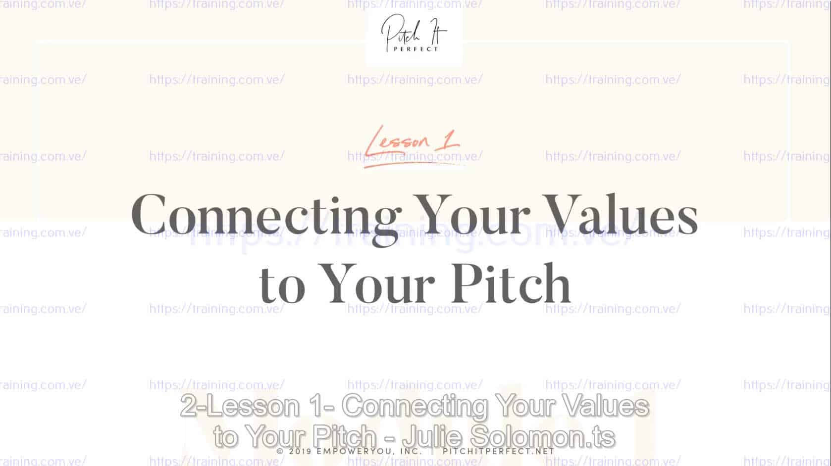 Pitch It Perfect by Julie Solomon Coupon