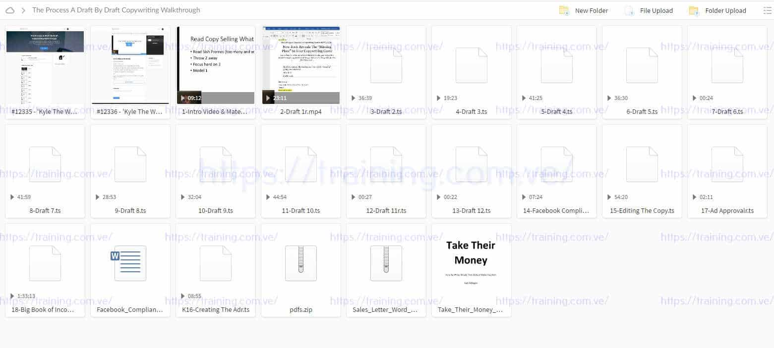 The Process A Draft By Draft Copywriting Walkthrough by Kyle Torrent