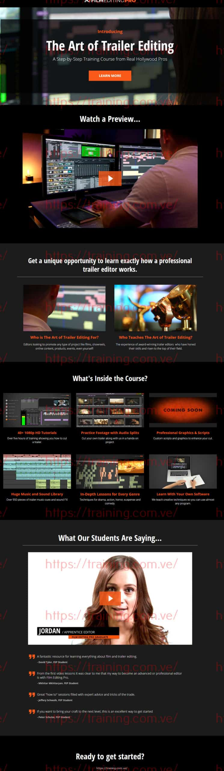 The Art Of Trailer Editing by Film Editing Pro Buy