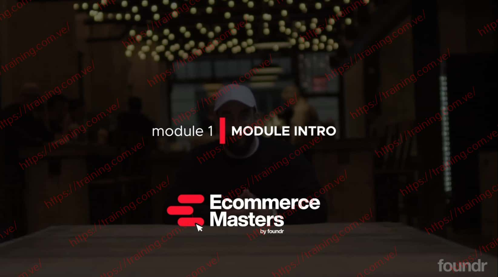 Ecommerce Masters by Foundr get