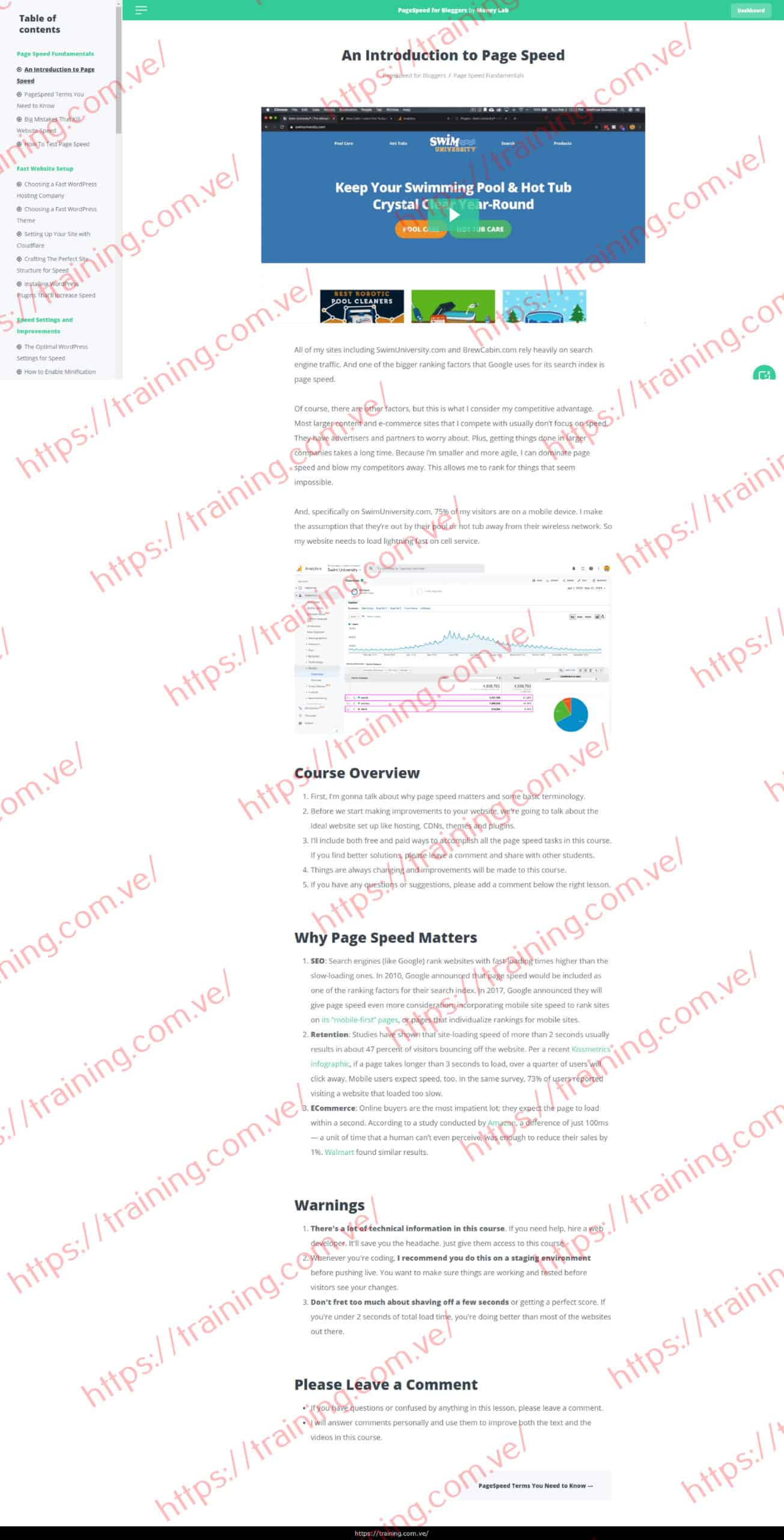 PageSpeed for Bloggers by Matt Giovanisci Buy