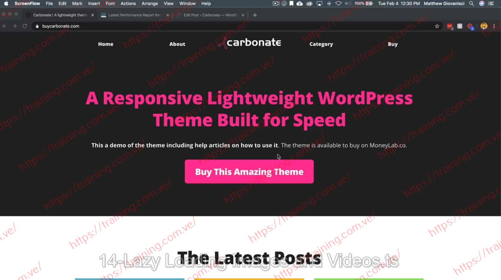 PageSpeed for Bloggers by Matt Giovanisci Discount
