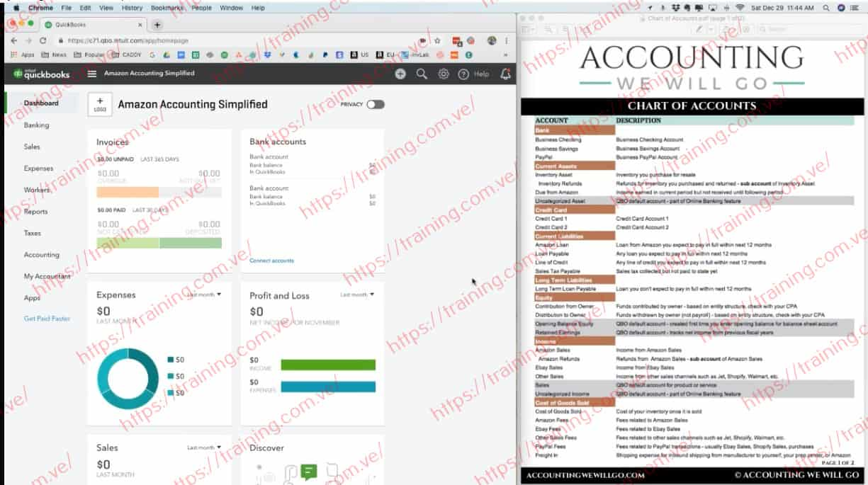 Amazon Accounting Simplified by Anna Hill Offer