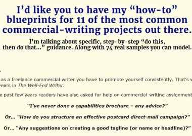 Well-Fed Craft: The Fast Track to Marketing-Writing Mastery