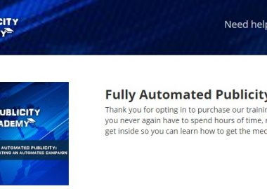 Fully Automated Publicity Campaign by Andrew O'Brien
