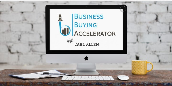Business Buying Accelerator by Carl Allen