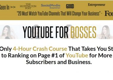 YouTube For Bosses By Sunny Lenarduzzi