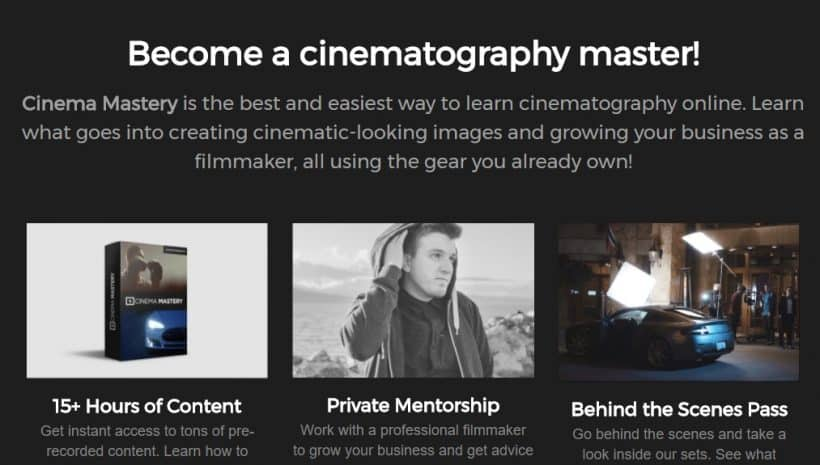 Cinema Mastery by Eric Thayne