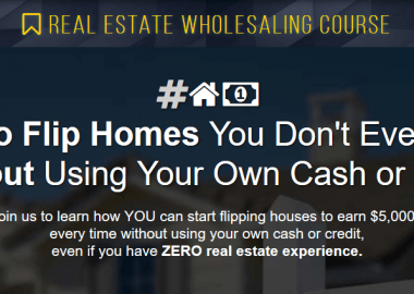 Real Estate Wholesaling Course by Secret Entourage