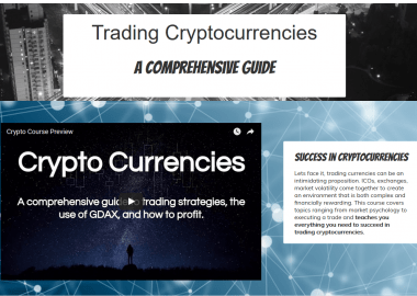TCG Educational Course Bundle Entries & Exits + Trading Cryptocurrency