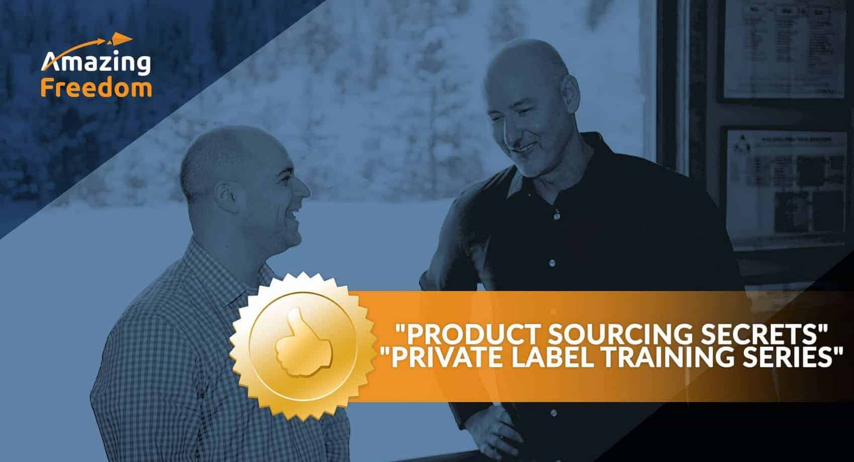 Amazing Freedom Private Label by Andy Slamans