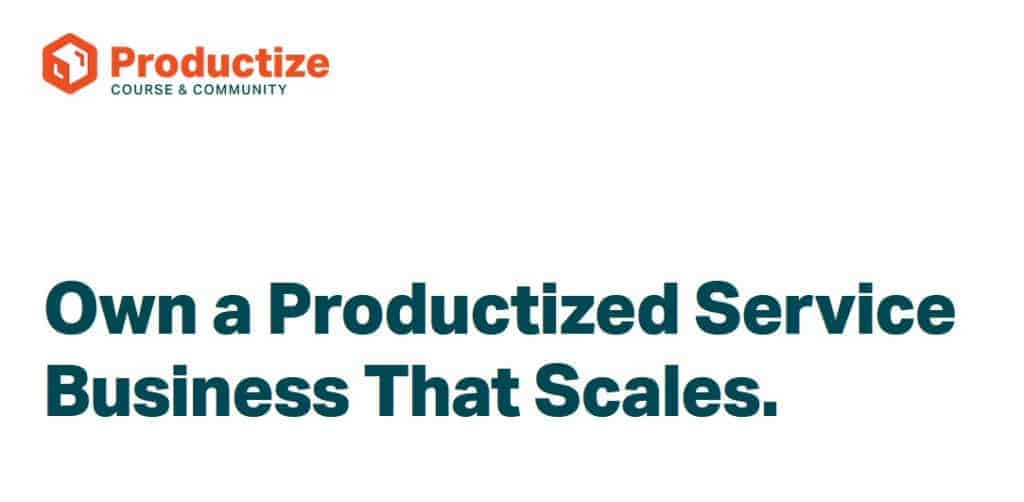 Productize by Brian Casel