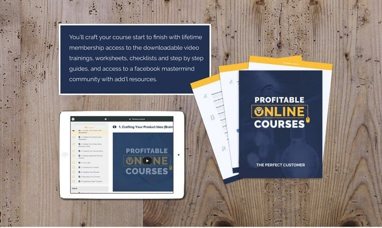 Profitable Online Courses by Lewis Howes