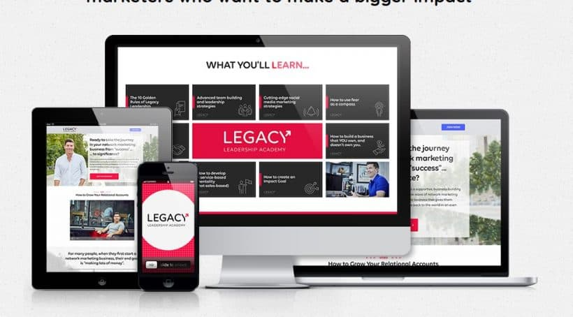 Legacy Leadership Academy by Bob Heilig