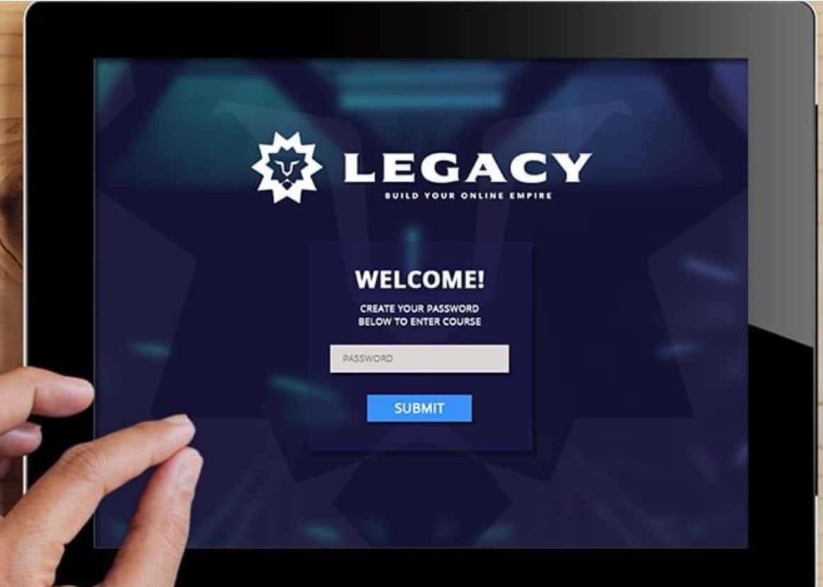Legacy course by Lewis Howes