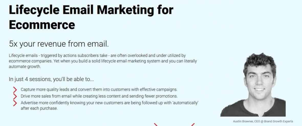 Conversionxl Lifecycle Email Marketing for Ecommerce by Austin Brawner