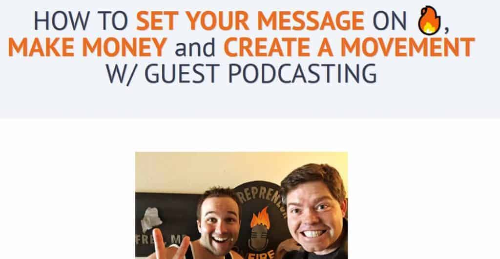 Podcast Guest Mastery John Lee Dumas and Richie Norton