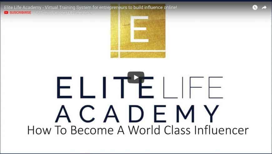 Elite Life Academy Influence by Danelle Delgado
