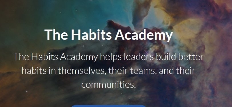 The Habits Academy by James Clear