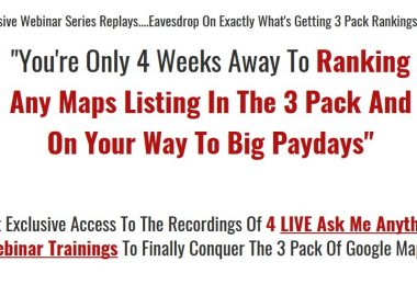 Maps Liftoff Webinar Series Replays by Brian Willie
