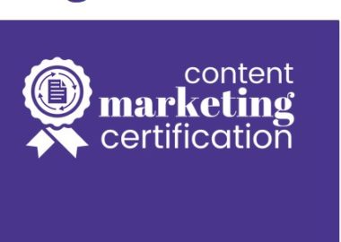 Content Marketing Certification by Jon Morrow