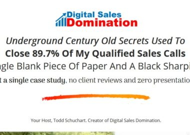 Digital Sales Domination by Todd Schuchart
