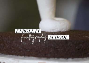 Foodtography school by Sarah Fennel