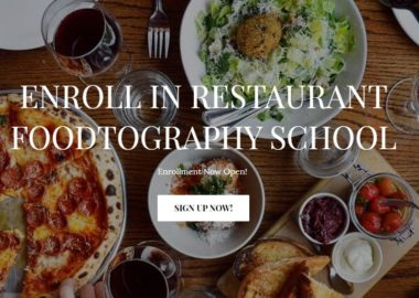 Restaurant Foodtography by Sarah Fennel