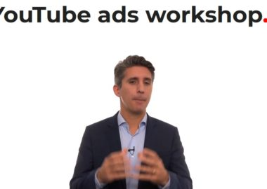 YouTube ads workshop by Tom Breeze
