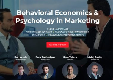 Behavioral Economics & Psychology in Marketing Complete course