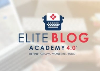 Elite Blog Academy 4 by Ruth Soukup