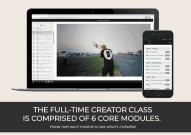 Full-Time Creator Class by Jeremiah Davis