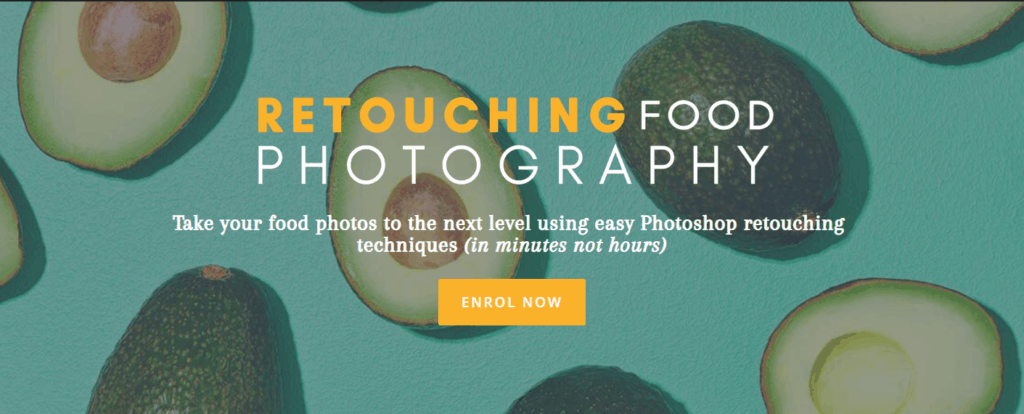 Retouching Food Photography by Rachel + Matt Korinek