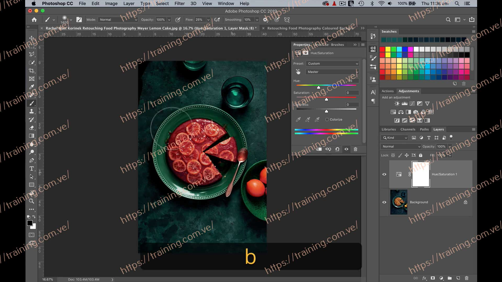Retouching Food Photography by Rachel + Matt Korinek Offer